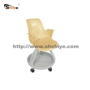 滑轮托盘式休闲椅