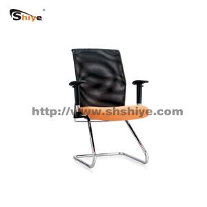 弓形网布办公椅
