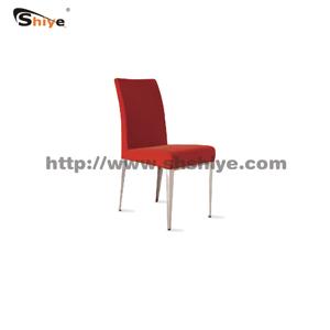 红色休闲椅