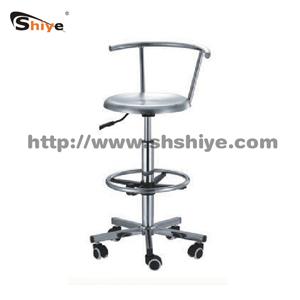 不锈钢靠背椅