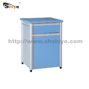 医用铝合金烤漆床头柜