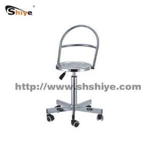 不锈钢液压靠背椅